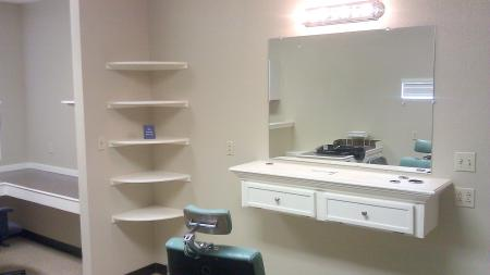 Styling Station and Retail Display