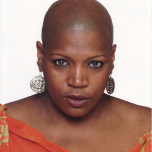 bald black woman