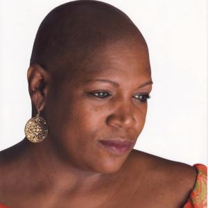 bald african american woman